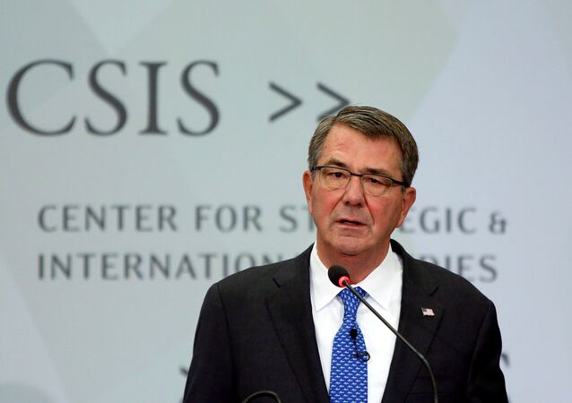 US Defense Secretary Ash Carter speaks at the Center for Strategic and International Studies in Washington, US, October 28, 2016.