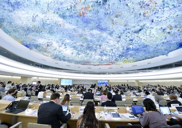 Session of the Human Rights Council. (File)