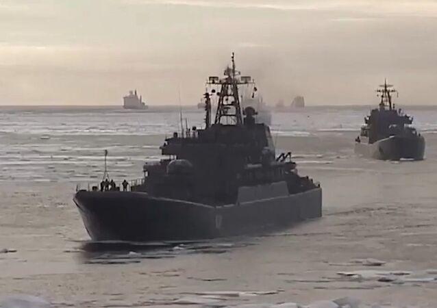 Russia Celebrates Sailor Day