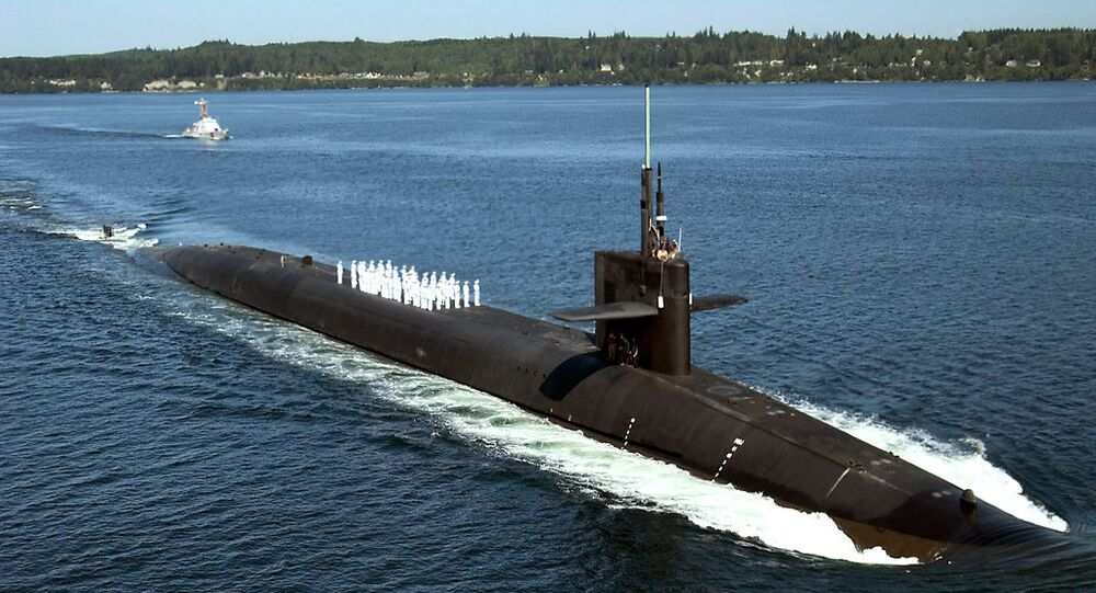 Submarine USS Pennsylvania