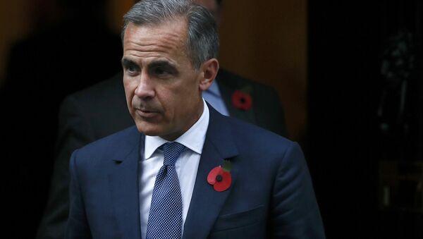 Bank of England governor Mark Carney leaves Number 10 Downing Street in central London, Britain October 31, 2016 - Sputnik International