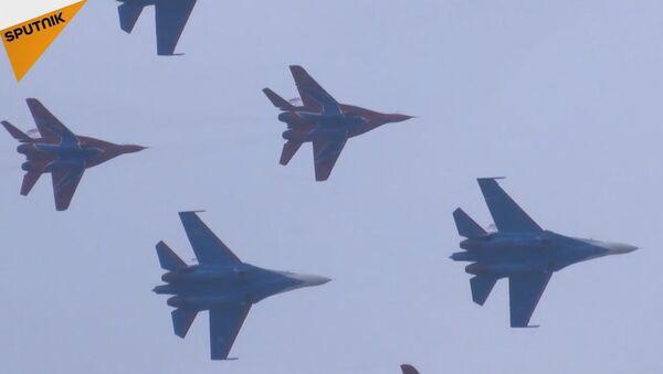 Russian Knights Perform At Airshow China - Sputnik International