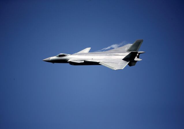 China unveils its J-20 stealth fighter on an air show in Zhuhai, Guangdong Province, China, November 1, 2016.