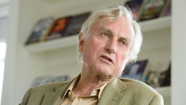 Professor Richard Dawkins, ethologist, evolutionary biologist and author of books including The God Delusion and The Selfish Gene, is seen at Random House, London, on Wednesday, August 14th,2013. Professor Dawkins is to publish an autobiographical book. - Sputnik International