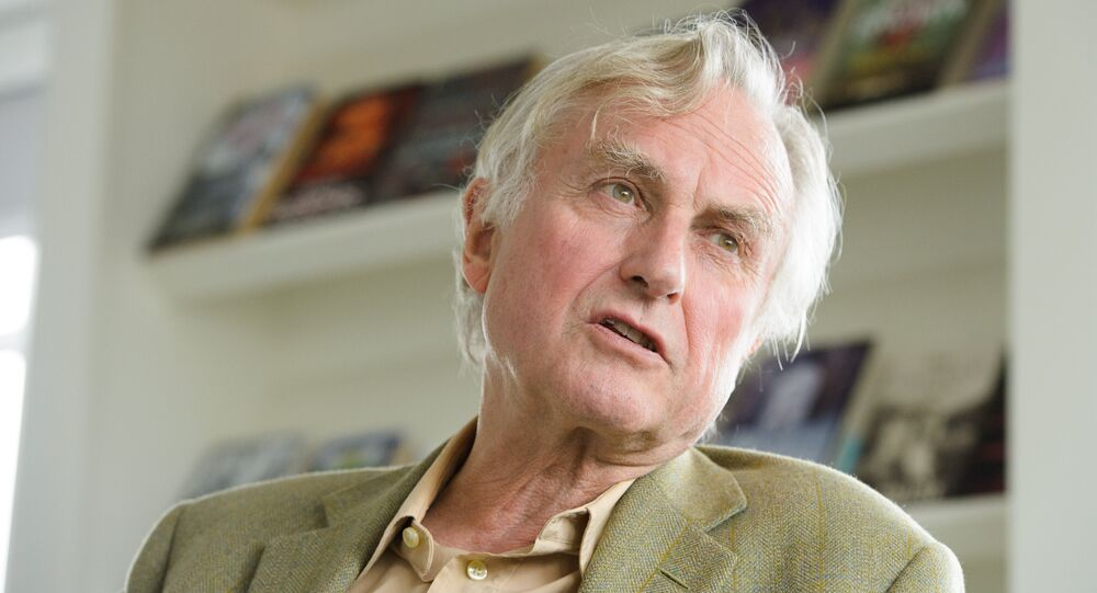 Professor Richard Dawkins, ethologist, evolutionary biologist and author of books including The God Delusion and The Selfish Gene, is seen at Random House, London, on Wednesday, August 14th,2013. Professor Dawkins is to publish an autobiographical book.