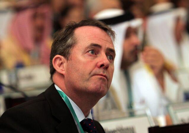 UK Minister for International Trade Liam Fox (File)