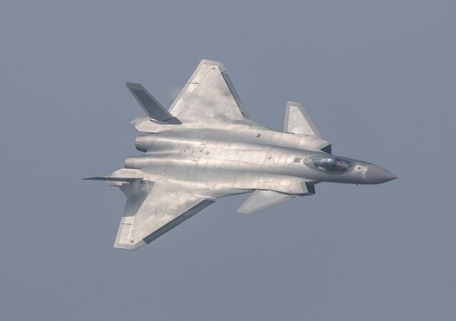 China unveils its J-20 stealth fighter during an air show in Zhuhai, Guangdong Province, China, November 1, 2016