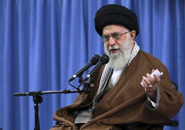 Iranian supreme leader Leader Ayatollah Ali Khamenei.
