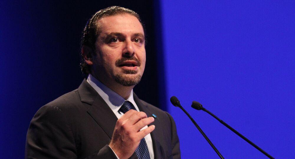 Lebanese prime minister Saad Hariri (File)