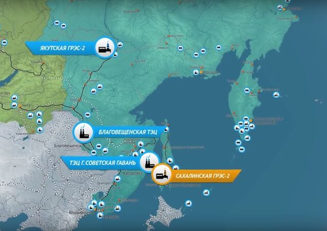 Map of new Sakhalin Hydroelectric Power Station project