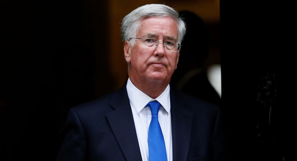 Britain's Secretary of State for Defence Michael Fallon leaves after attending a cabinet meeting at Number 10 Downing Street in London, Britain September 8, 2015.
