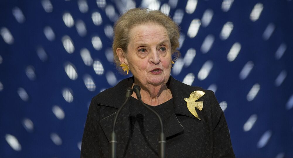 Former Secretary of State Madeleine Albright  (File)