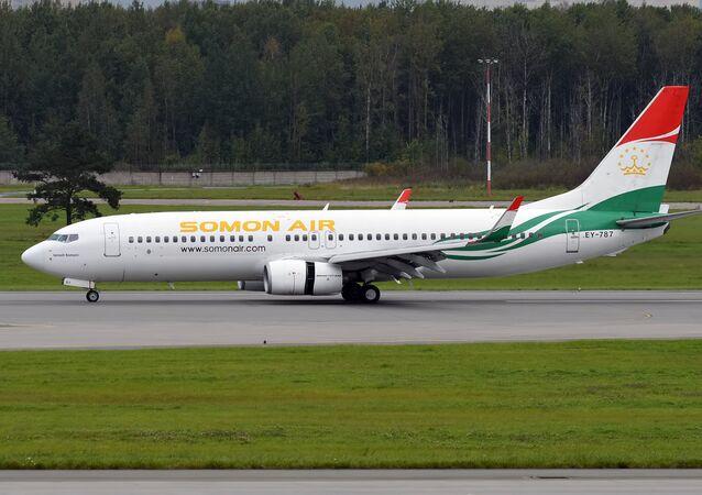Somon Air, EY-787, Boeing 737-8GJ