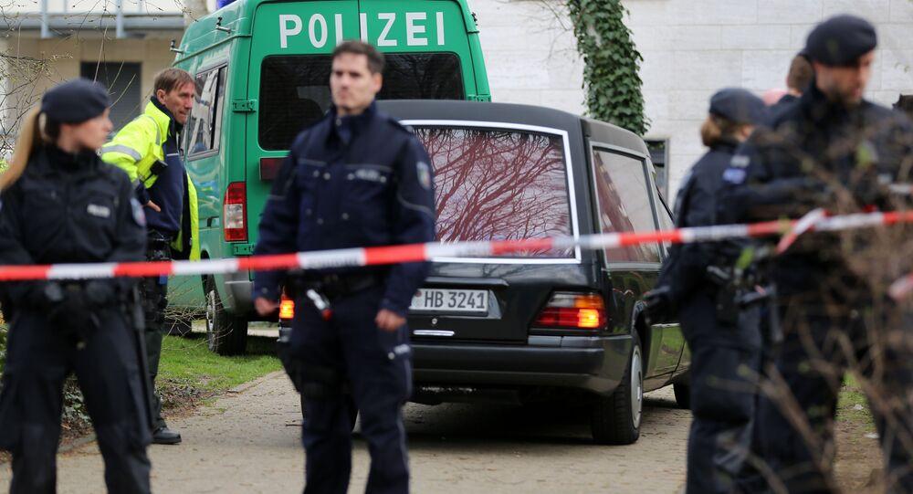 Police in Bergheim, Germany. (File)