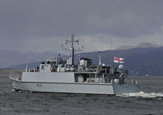 HMS Grimsby M108. (File)