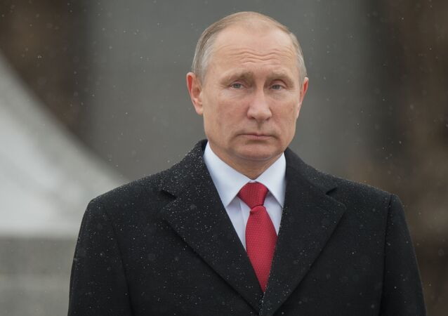 Russian President Vladimir Putin. November 4, 2016