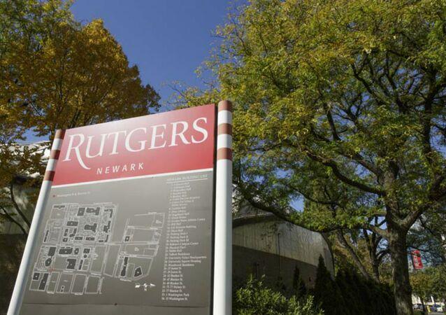 Rutgers Sign - 2