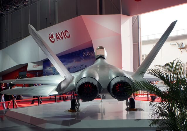 China's Shenyang FC-31 stealth fighter, an export-designated version of the J-31 fighter is seen on display at Airshow China in Zhuhai, Guangdong province, China November 3 2016.