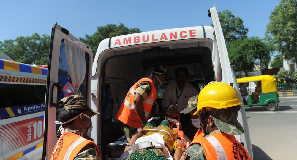 India Ambulance. (File)