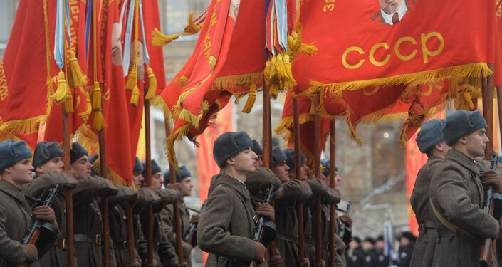 March commemorating 75th anniversary of 1941 military parade on Red Square