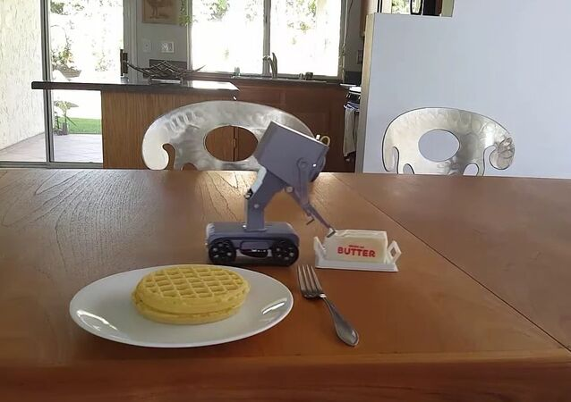 3D printed pass the butter robot from rick and morty