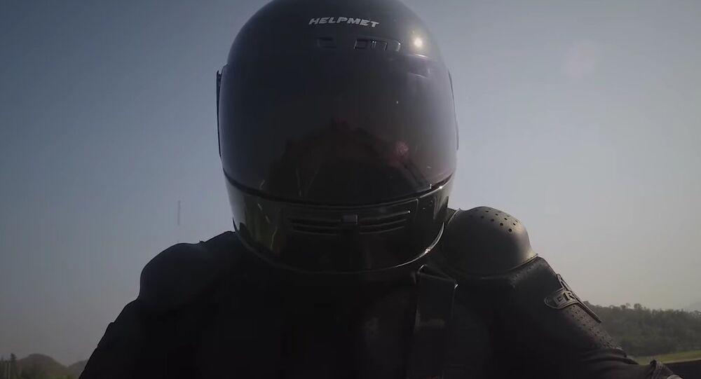 HELPMET, a new motorcycle helmet that sends for help in case of an emergency