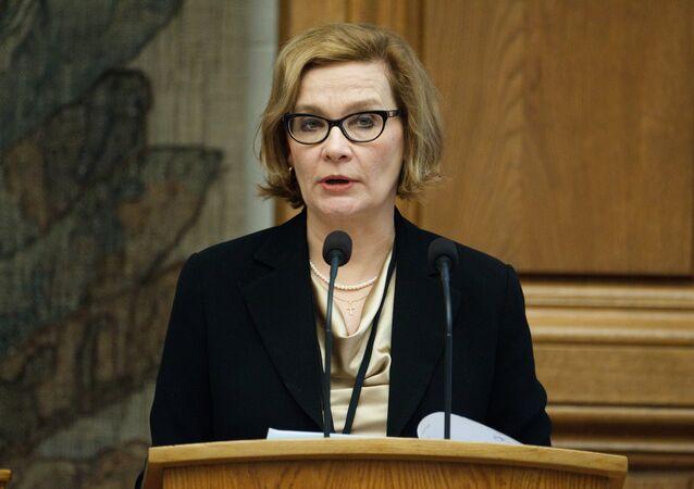 Finnish Interior Minister Paula Risikko.(File)