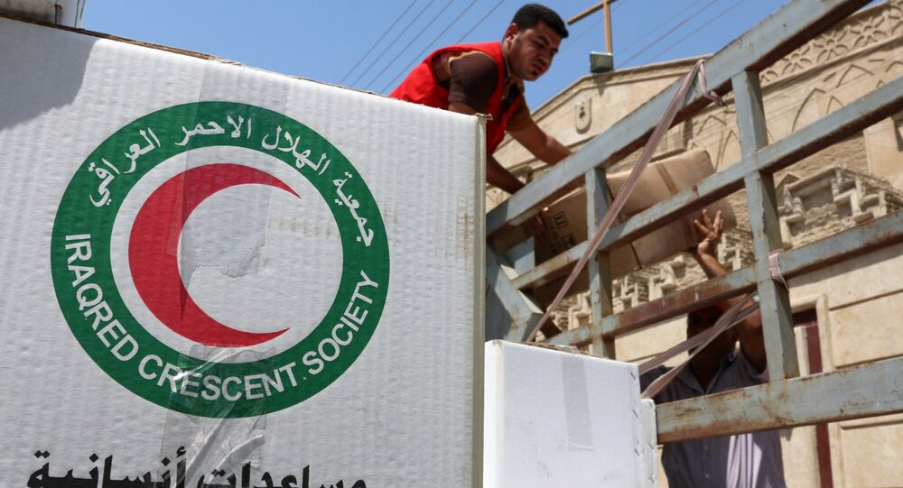 International Committee of the (ICRC) is ready for any developments in the Iraqi city of Mosul