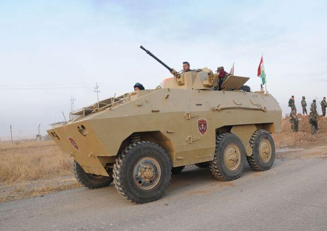 Peshmerga. Mosul