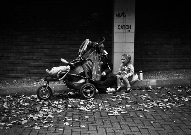 United Kingdom children poverty