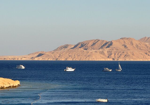 The Strait of Tiran and Tiran Island