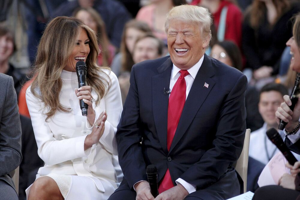 Meet the 45th US President and the First Lady