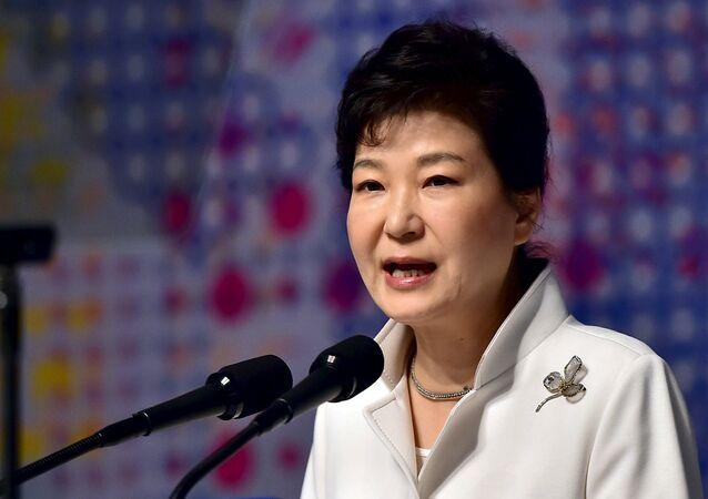 South Korean President Park Geun-hye (File)