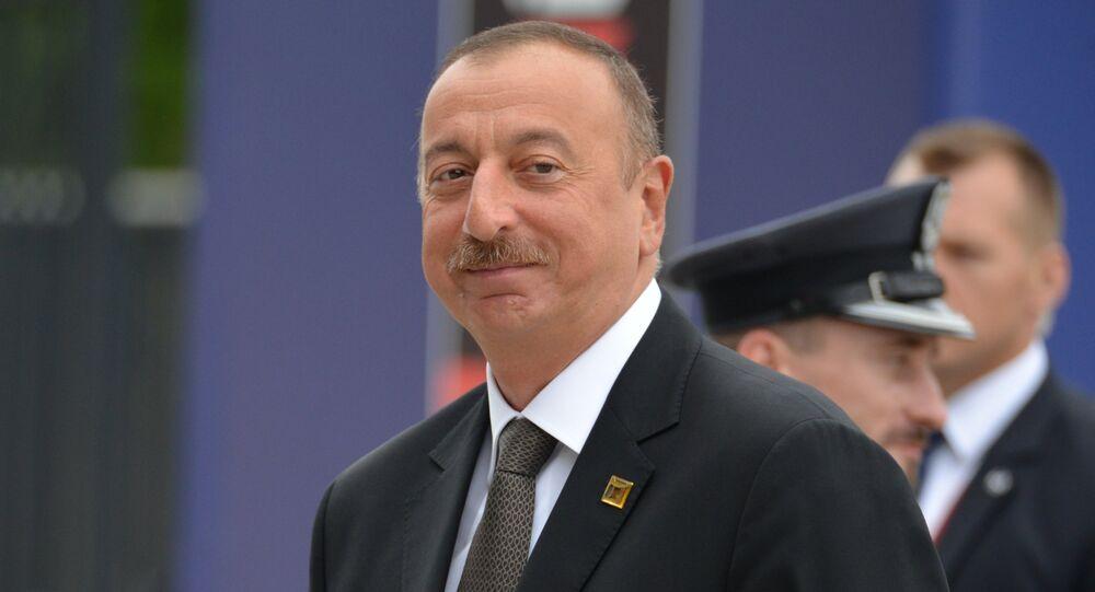 President of Azerbaijan Ilham Aliev