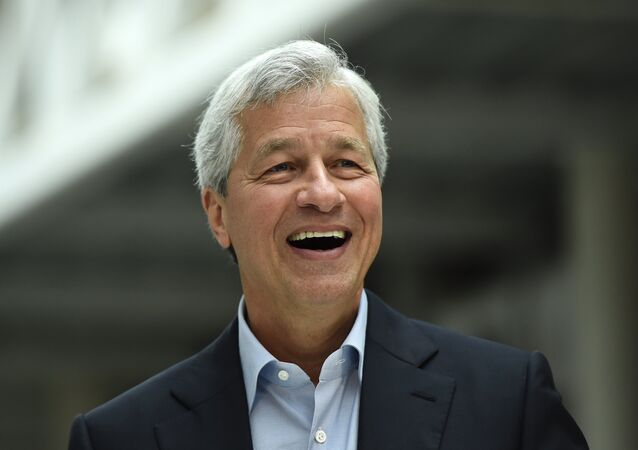 JP Morgan CEO Jamie Dimon speaks at an event at JP Morgan's corporate centre in Bournemouth, southern Britain, June 3, 2016