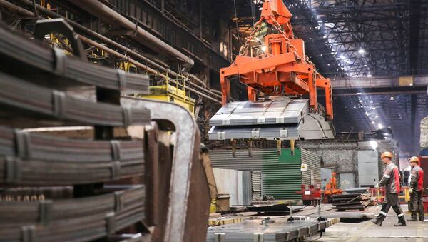 Zaporozhstal, one of Ukraine's largest steel makers - Sputnik International
