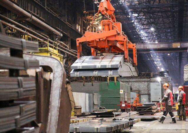 Zaporozhstal, one of Ukraine's largest steel makers