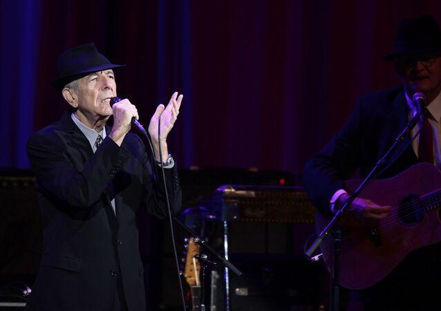 Leonard Cohen in concert, Moscow