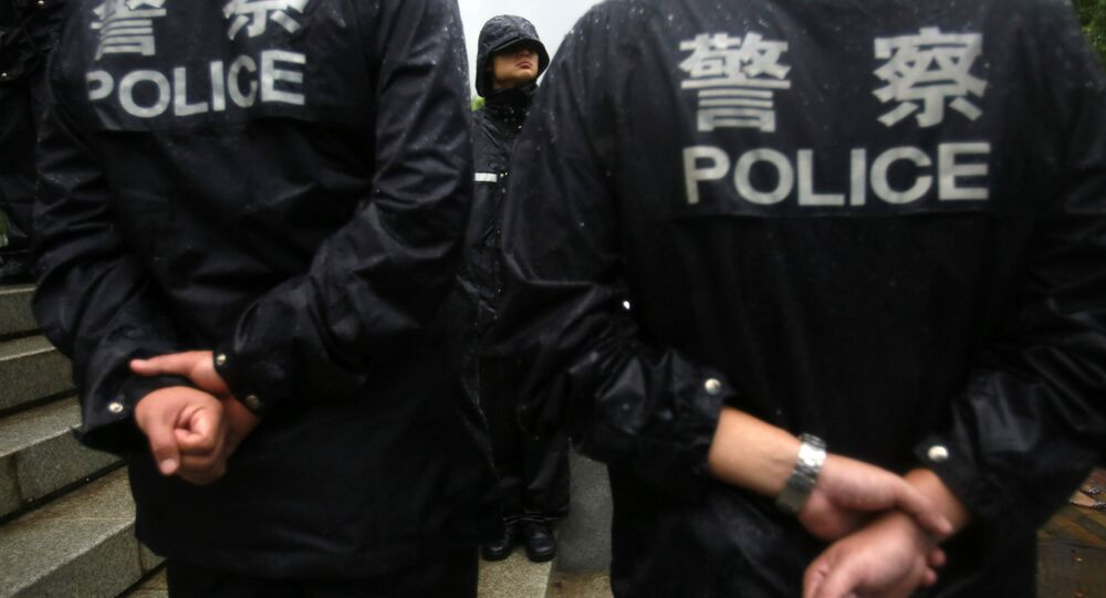 Chinese police officers. (File)
