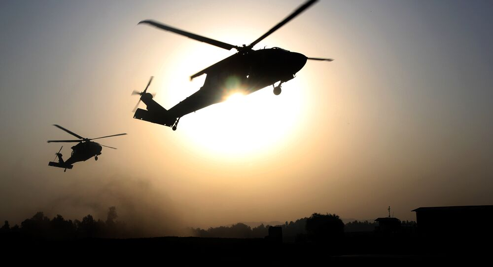 US helicopters. (File)