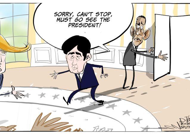Abe's Trump Card?
