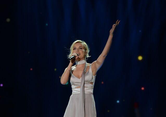 Pop singer Polina Gagarina