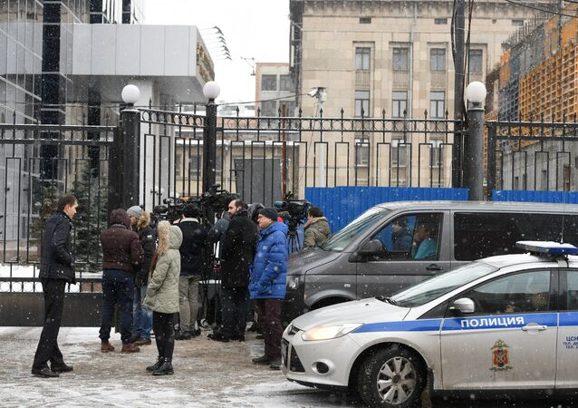 Situation near Russian Investigative Committee and Ministry of Economic Development after Alexei Ulyukayev's arrest