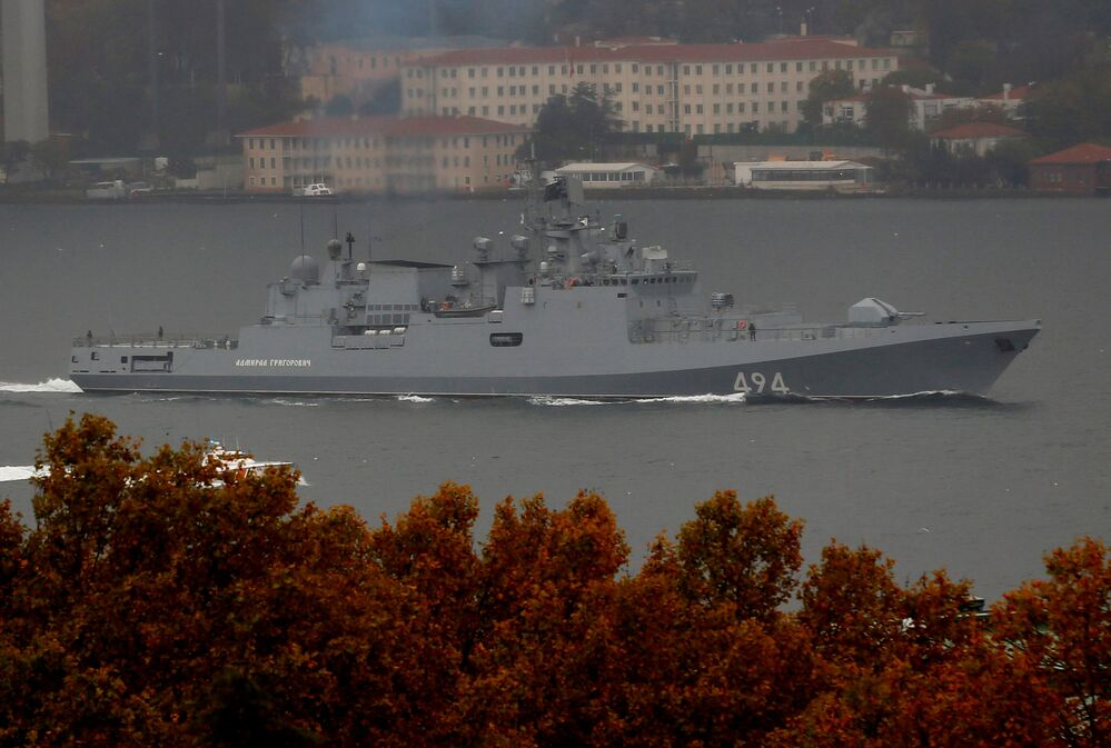 Russian Aircraft Carrier, Frigate Unleash Hell Upon Terrorists in Syria
