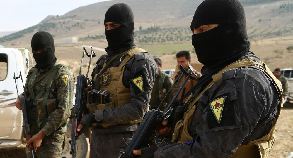 Kurdish YPG Fighters (File)