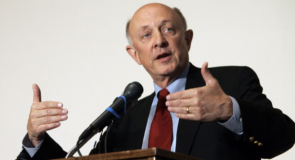 Former CIA Director James Woolsey (File)