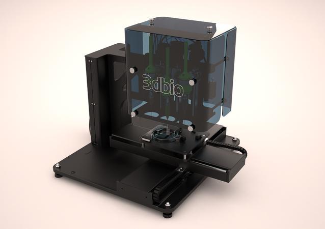 Russia's first 3D bioprinter