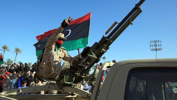 Libyan soldiers (File) - Sputnik International