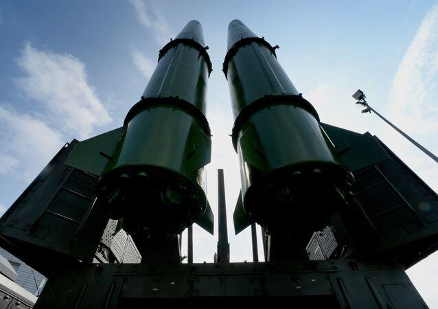 An Iskander-M missile system.