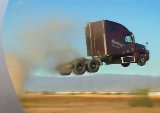 'Flying' Trucks Challenge the Laws of Physics